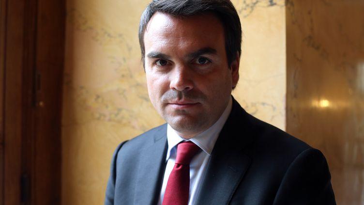 Le député de Saône-et-Loire Thomas Thévenoudà l'Assemblée nationale,le 30 octobre 2012. (THOMAS SAMSON / AFP)