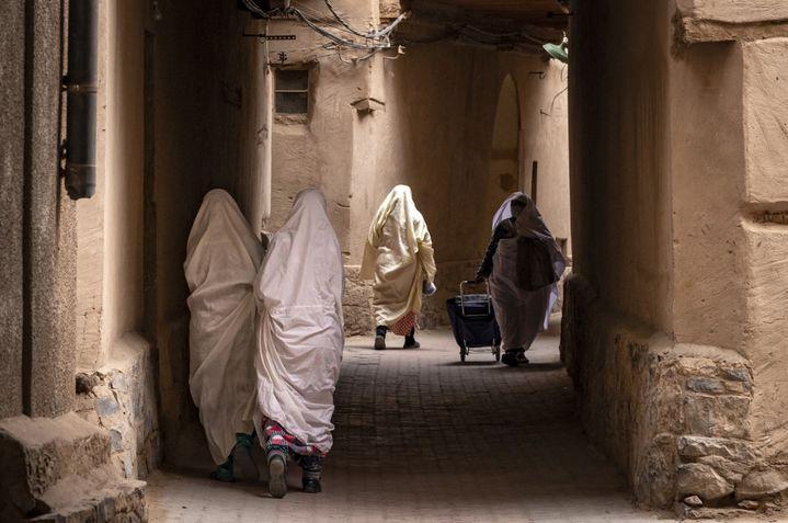 La ville de Figuig dans la région de l'Oriental, à la frontière avec l'Algérie. Une région qui se sent oubliée par Rabat. (FADEL SENNA / AFP)