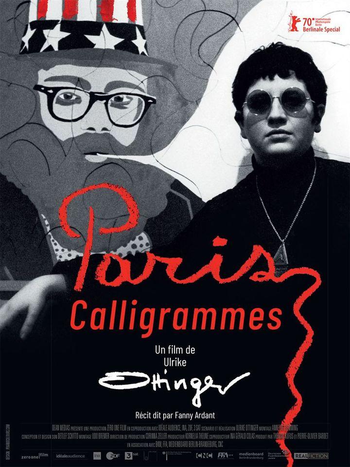 """L'affiche de """"Paris Calligrammes"""" deUlrike Ottinger. (Dean Medias)"""