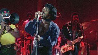 James Brown sur scène à Kinshasa en 1974  (Océan Films)