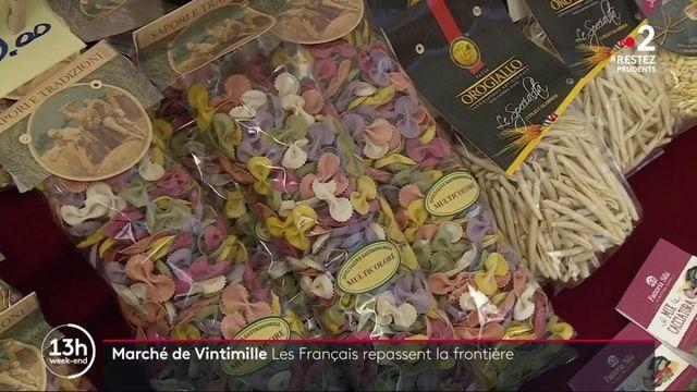 Italie : soulagement des commerçants de Vintimille après l'ouverture des frontières