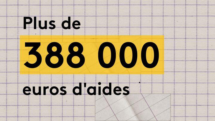 Le bouquet de librairies Attitude a bénéficié de plus de 388 000 euros d'aides: deux versements du Centre national du livre pour 38 300 euros, et un prêt garanti par l'Etat de 350 000 euros. (JESSICA KOMGUEN / FRANCEINFO)