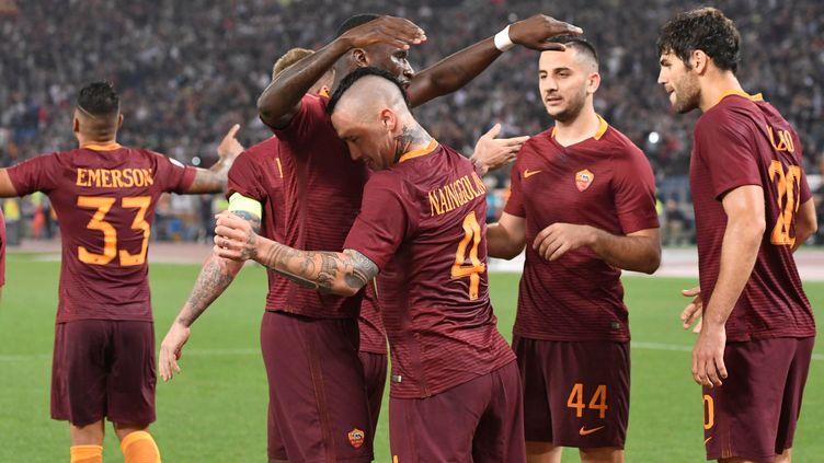 La Roma empêche la Juve d'être championne chez elle (CLADIO PASQUAZI / ANADOLU AGENCY)