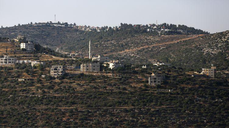 La colonie israélienne d'Ateret, près de Ramallah en Cisjordanie occupée, le 27 juin 2017. (ABBAS MOMANI / AFP)