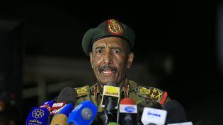Le Conseil souverain de transition au Soudan est dirigé par legénéral Abdel Fattah al-Burhane depuis la destitution du présidentOmar el-Béchir en avril 2019 (photo prise le 31 octobre 2019 dans les faubourgs de Khartoum). (ASHRAF SHAZLY / AFP)