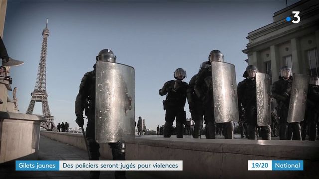 Gilets jaunes : des policiers seront jugés pour des violences lors des manifestations