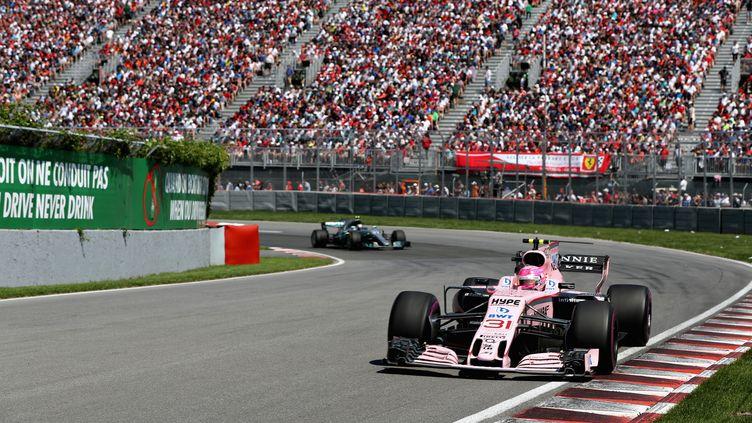 Esteban Ocon lors du GP du Canada (MARK THOMPSON / GETTY IMAGES NORTH AMERICA)