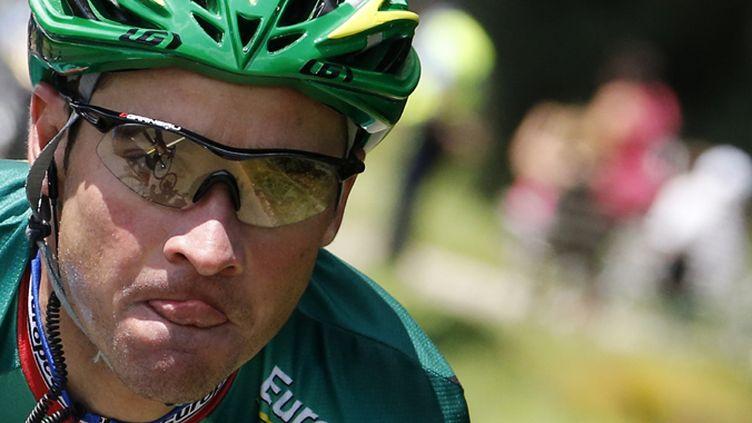 Thomas Voeckler (Europcar) (JOEL SAGET / AFP)