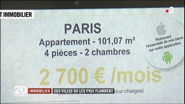 Immobilier : ces villes où les prix flambent