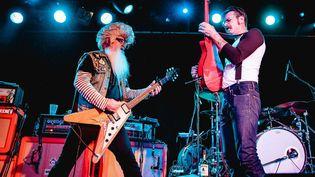 Les Eagles of Death Metal en concert à Leeds (Royaume-Uni), le 31 octobre 2015  (Danny Payne / REX Shutter / SIPA)