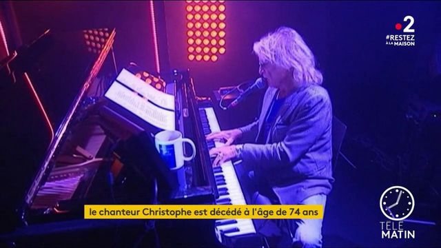 Le chanteur Christophe s'est éteint
