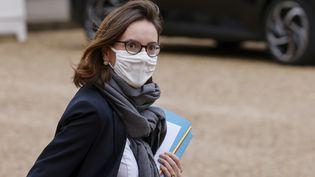 Amélie de Montchalin, ministre de la Transformation et de la Fonction publique, le 13 janvier 2021. (LUDOVIC MARIN / AFP)