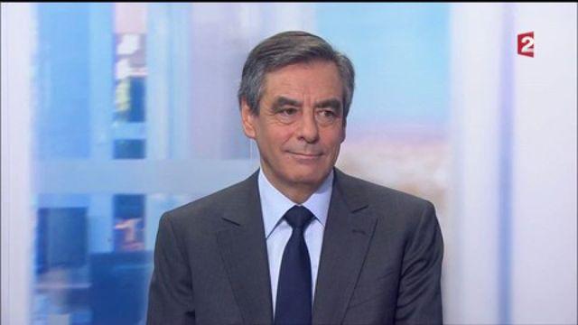 """François Fillon : """"Je veux redresser le pays"""""""