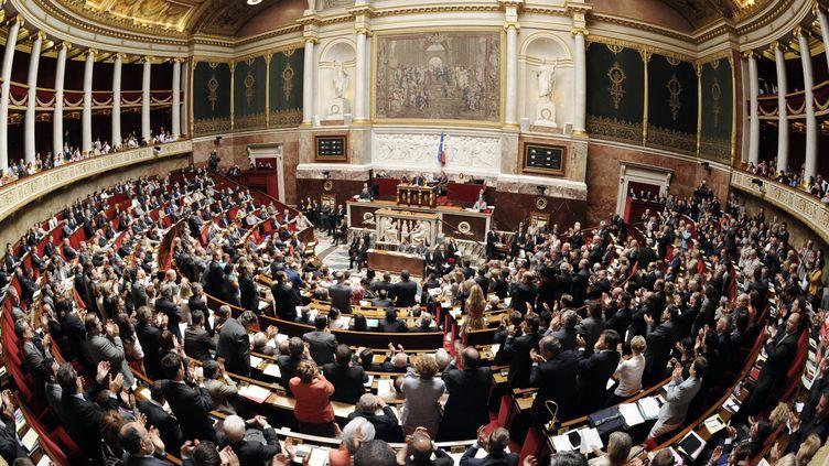 L'Assemblée nationale, à Paris, le 17 juin 2012. (BERTRAND GUAY / AFP)