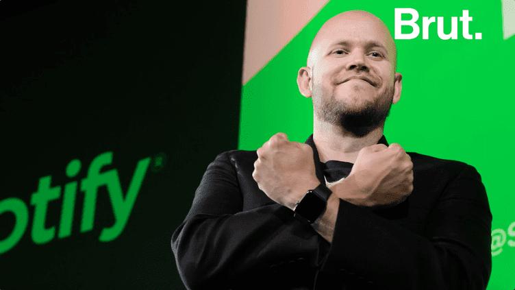 """Qui est Daniel Ek, PDG de Spotify et """"homme plus puissant de la musique"""" ? (BRUT)"""
