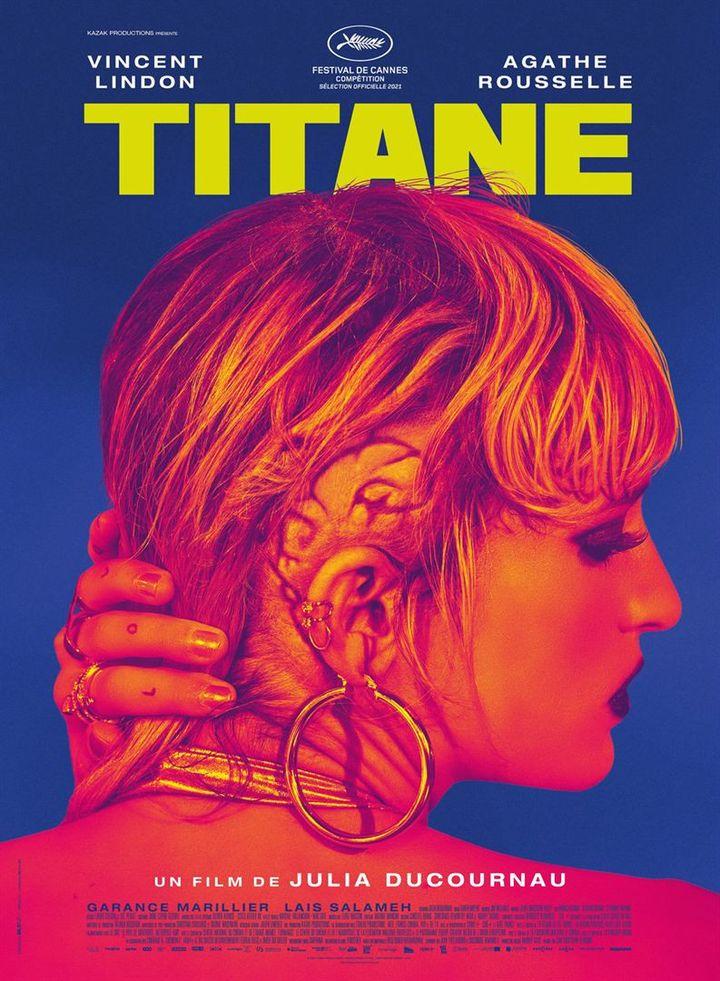 """L'affiche de """"Titane"""" de Julia Ducourneau (2021). (DIAPHANA DISTRIBUTION)"""