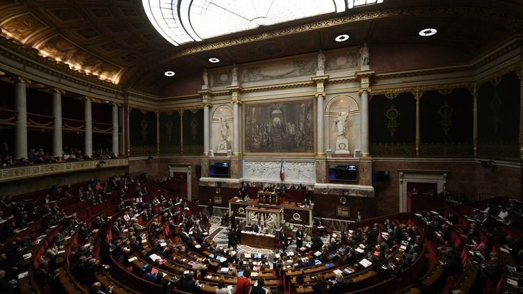 L'Assemblée nationale, le 19 novembre 2019. Illustration. (PHILIPPE LOPEZ / AFP)