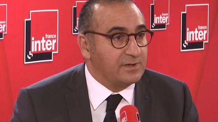 LaurentNuñez était l'invité de France Inter mercredi 13 novembre 2019. (FRANCE INTER)