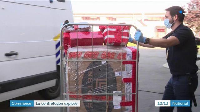 Commerce : la contrefaçon explose