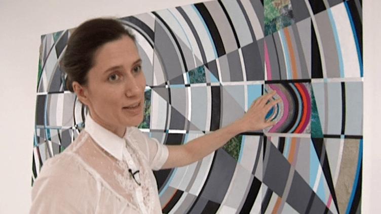 """Exposition """"Transpositions"""" de Anna Ostoya à la Kunsthalle.  (Culturebox / capture d'écran)"""
