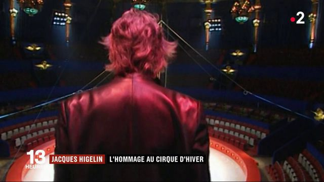 Jacques Higelin : hommage au cirque d'hiver
