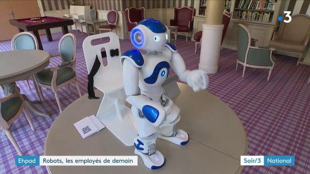 Prise en charge des personnes âgées : les robots arrivent