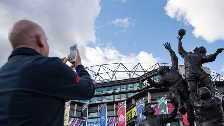 Le stade de Twickenham avant le début de la Coupe du monde 2015. (LEON NEAL / AFP)