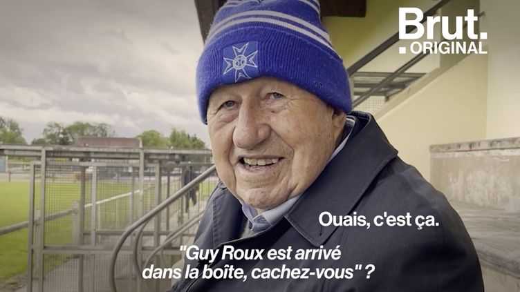 """VIDEO. Rencontre et """"confidences"""" avec l'ancien footballeur Guy Roux (BRUT)"""