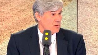 L'ancien porte-parole du gouvernement de Manuel Valls, Stéphane Le Foll, invité sur franceinfo jeudi 20 juillet. (FRANCEINFO)