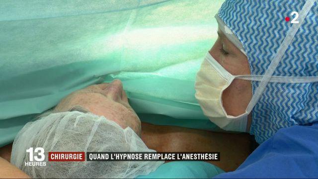 Santé : dans la salle d'une opération sous hypnose