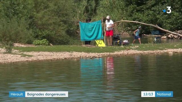 Hérault : baignades dangereuses