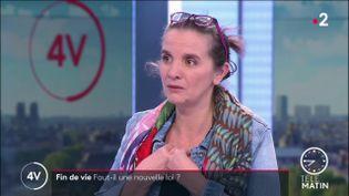 Caroline Fiat, députée LFI de Meurthe-et-Moselle. (France 2)