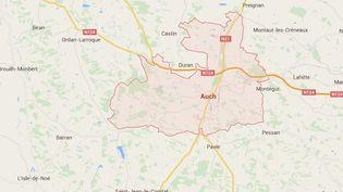 Il était un peu plus de 3 heures du matin, dimanche 23 août 2015,lorsque un violent incendie, pour l'heure d'origine indéterminée, a presque entièrement détruit la mosquée d'Auch (Gers). (GOOGLE MAPS)