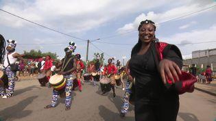 Le festival Masa d'Abijan rassemble toutes les cultures de Côte d'Ivoire (France 3 Lyon)