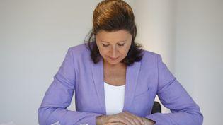 Agnès Buzyn, l'ancienne ministre de la Santé, le 2 juin à 2020 à Paris lors d'une conférence de presse. (MAXPPP)
