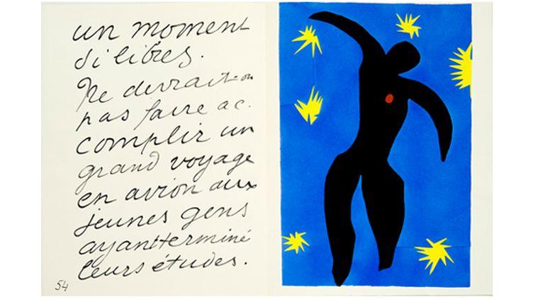 """Henri Matisse, """"Icare"""", 1947. (SUCCESSION H. MATISSE / MUSÉE DÉPARTEMENTAL MATISSE, LE CATEAU-CAMBRÉSIS, PHILIP BERNARD)"""
