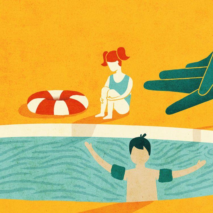 Les enfants de moins de 6 ans sont les premiers touchés par le risque de noyade. Un tiers des accidents les concernent. (Ellen Lozon)