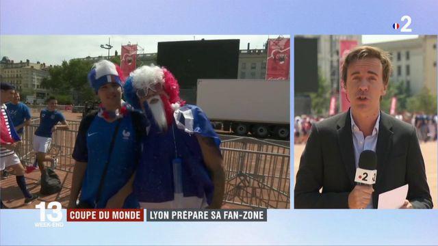 Finale France - Croatie : un important dispositif de sécurité autour des fan-zones