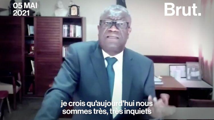VIDEO. Denis Mukwege : pour une masculinité positive (BRUT)