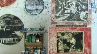 Expo Alechinsky au Musée Granet : rencontre dans l'atelier du maitre  (Culturebox)