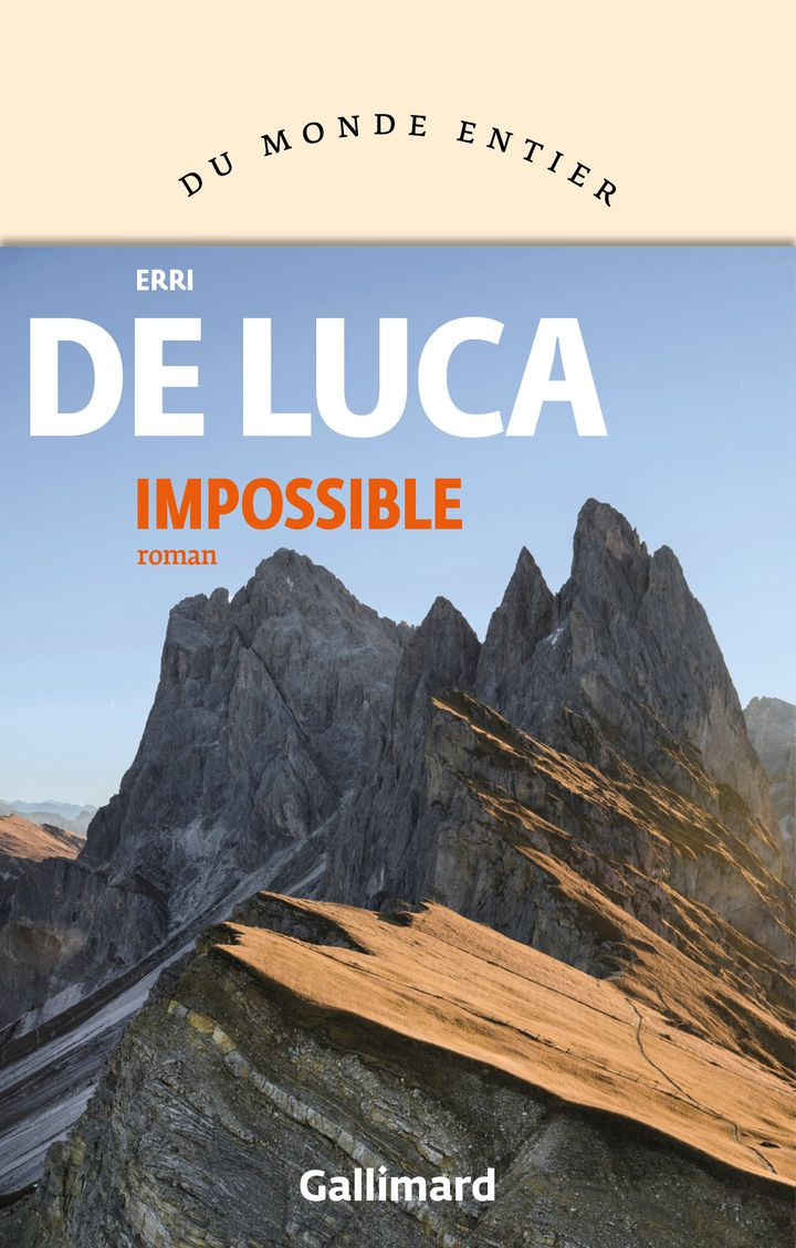 "Couverture de ""Impossible"", de Erri de Luca (GALLIMARD)"