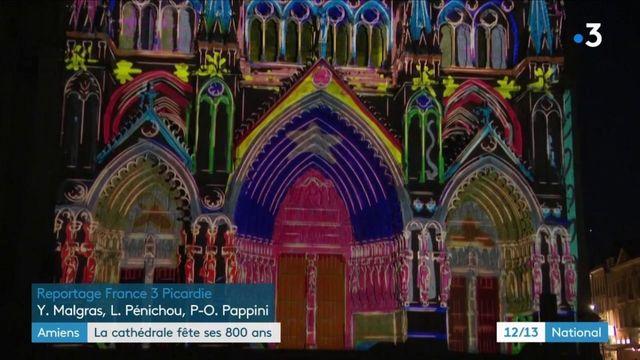 La cathédrale d'Amiens fête ses 800 ans