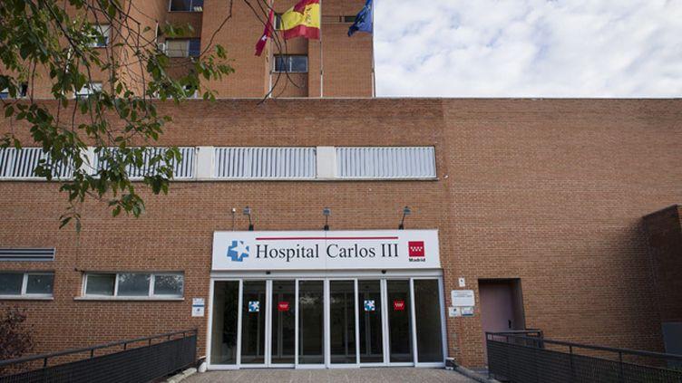 (Test négatif pour l'aide-soignante soignée pour le virus Ebolas à l'hopital Carlos de Madrid © MaxPPP)