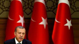 Le président turc Recip Tayyip Erdogan à Ankara (Turquie), le 4 mai 2016. (UMIT BEKTAS / REUTERS)