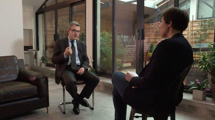 "Aymeric Chauprade, ""Envoyé spécial"". (FRANCE 2 / FRANCETV INFO)"