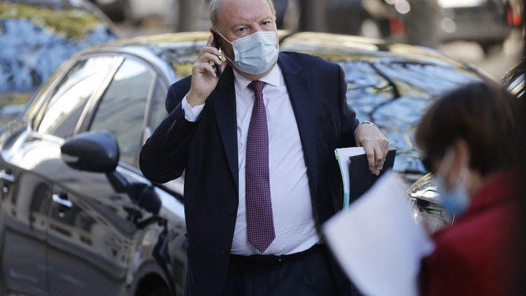 Hervé Marseille, à Paris, le 21 octobre 2020. (LUDOVIC MARIN / AFP)