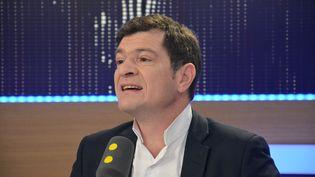Benoist Apparu, ancien ministre LR du Logement, sur franceinfo. (Jean-Christophe Bourdillat / Radio France)
