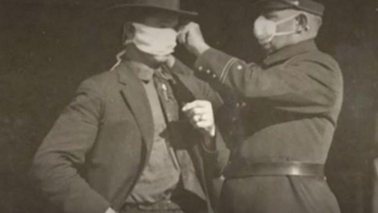 Grippe espagnole (FRANCEINFO)
