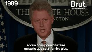 Fusillade aux États-Unis : l'éternelle réaction des présidents américains (BRUT)