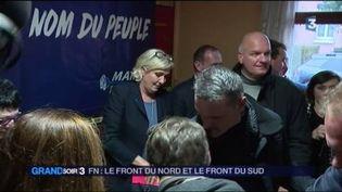 Marine Le Pen, présidente du Front national. (FRANCE 3)